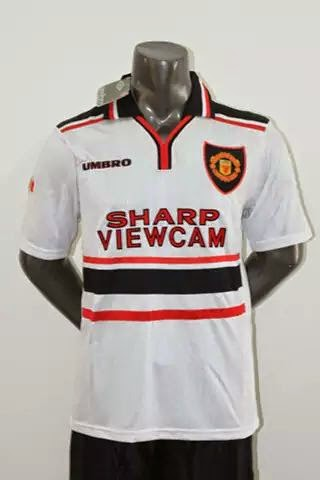 Jual jersey retro Manchester United away 1997