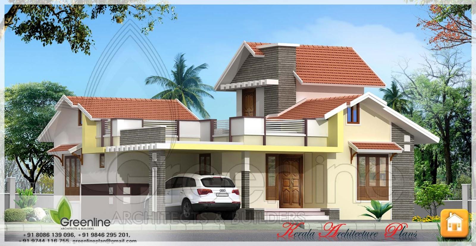 Single storied kerala house plan in 1250 square feet for Single storied kerala house plans