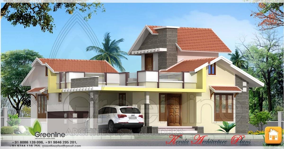 Single Storied Kerala House Plan In 1250 Square Feet