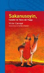 SAKANUSOYIN, CAZADOR DE TIERRA DEL FUEGO--Victor Carvajal