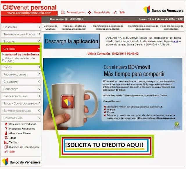 Descargar planilla credinomina banco de venezuela notilogia for Hotmailbanco de venezuela