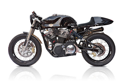 "Harley Davidson 1200 Sportster ""THE AMERICAN"" Cafe Racer by Deus Ex Machina  America"