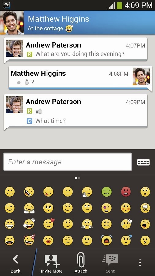 Free Download BBM v1.0.0.70.apk for Android OFFICIAL Direct Link