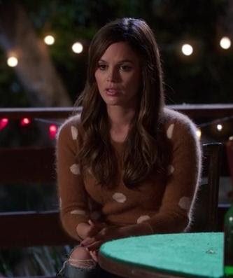 hart of dixie polka dot sweater