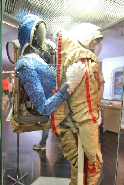 Como salían los rusos de su traje espacial
