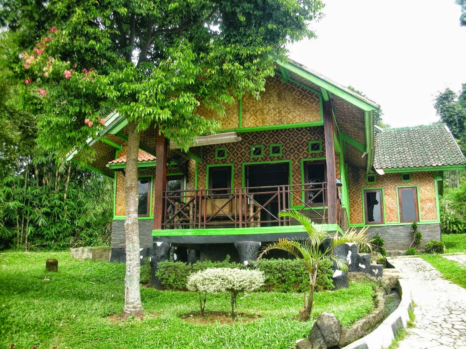 villa murah meriah di ciater