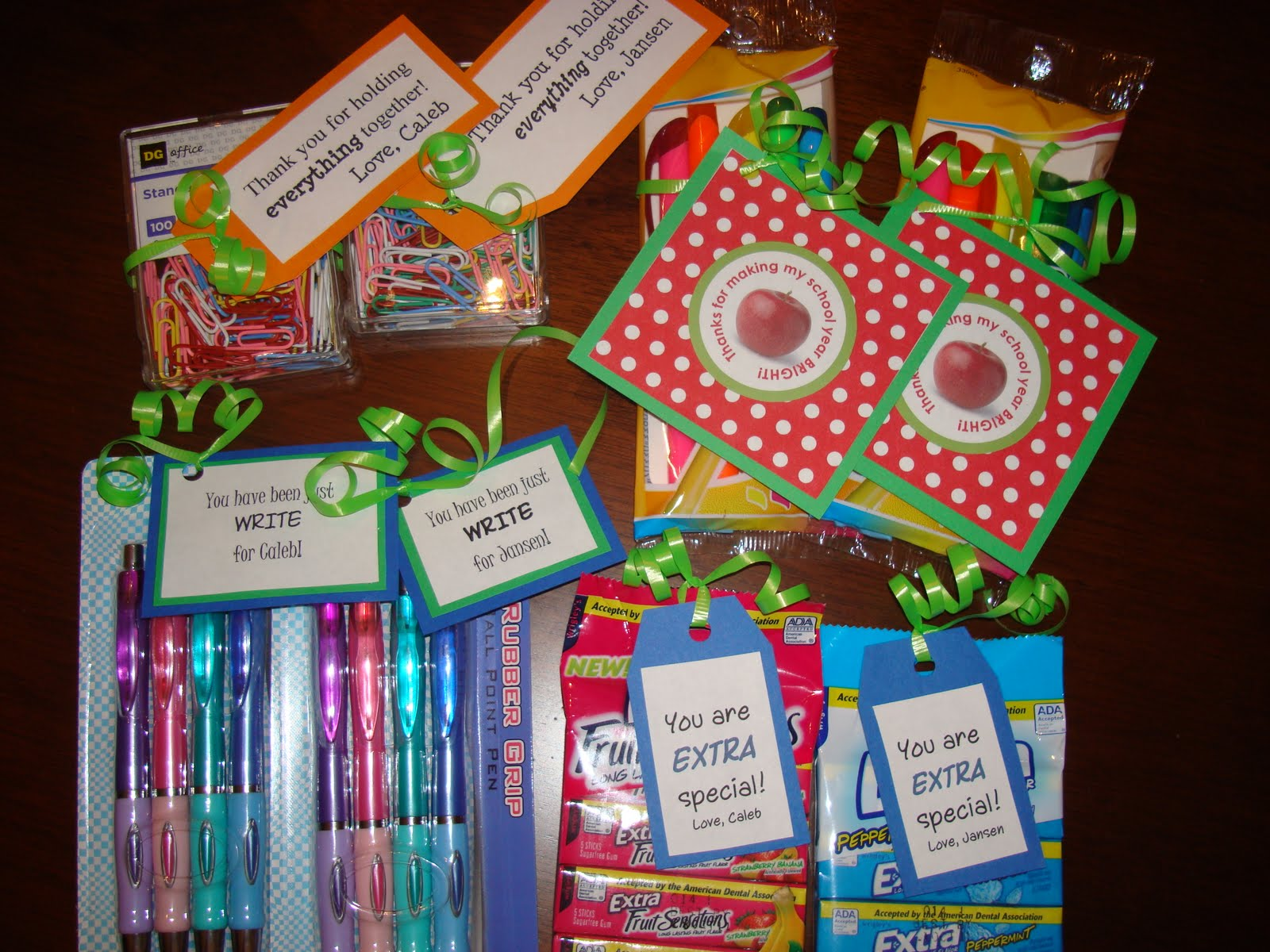 Living the super life last minute teacher appreciation gifts for Super cheap gift ideas
