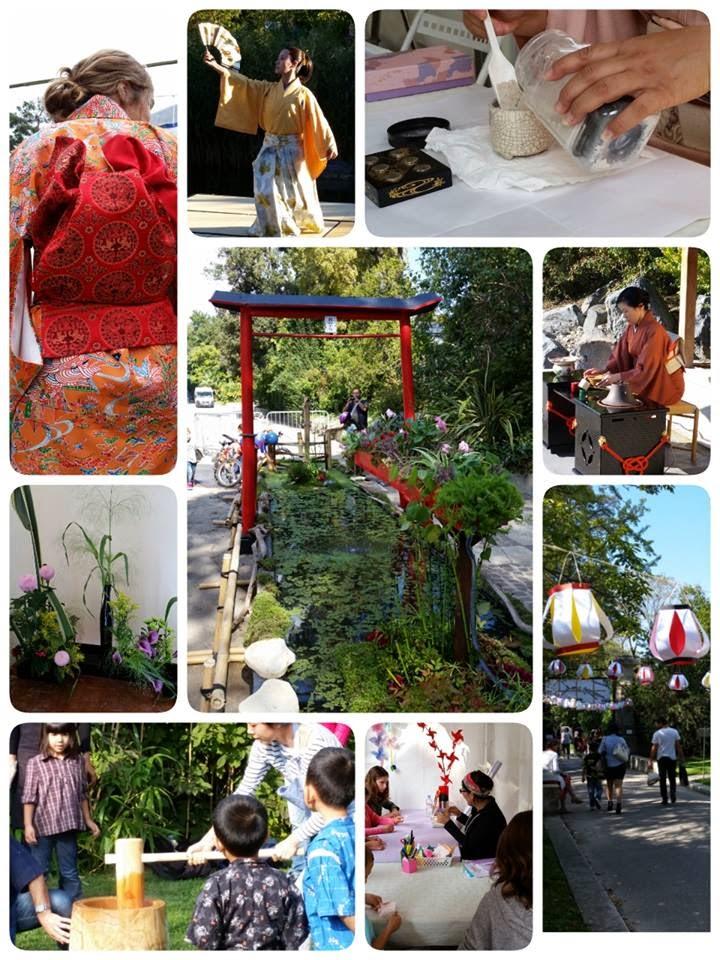 Alex geekette aki matsuri grande f te de l 39 automne au for Jardin japonais marseille