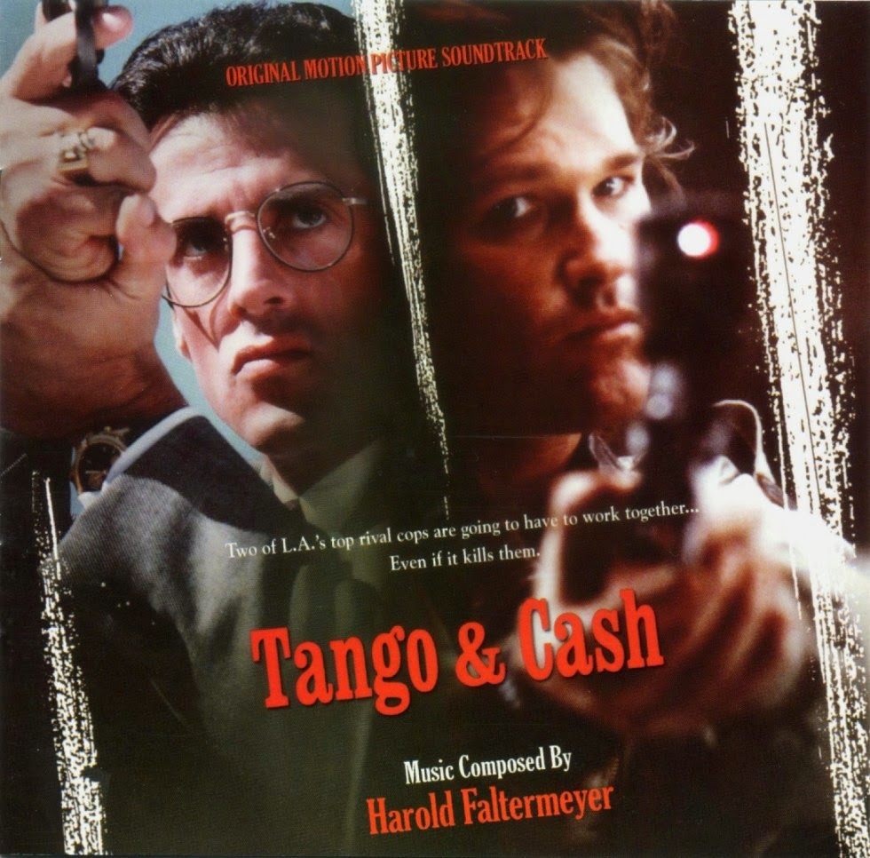 Tango and Cash (1989) - Starring Sylvester Stallone & Kurt Russell - Drugs, prisoners and detectives