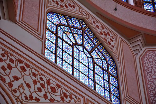 Masjid Putra Kuala Lumpur glass