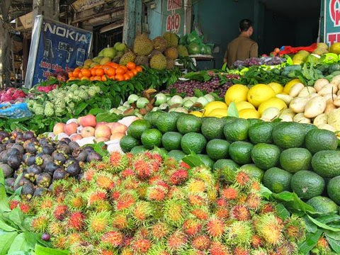 Fruits in Vietnam is one of best Vietnamese Food