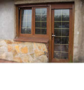 Puerta de cocina a patio. Esta puerta es la indicada para instalacion en una .