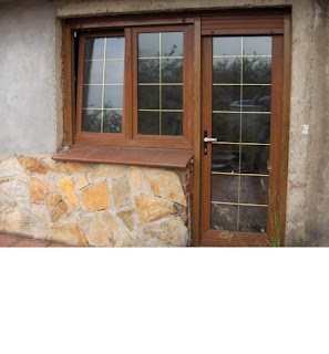 Fotos y dise os de puertas puerta de cocina a patio for Puertas para patio exterior