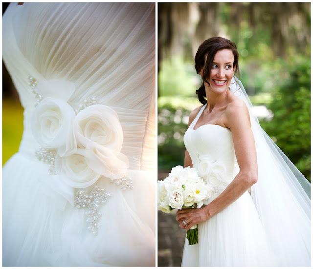 bride chic meghan and joshuas plantation wedding