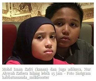 Mohd Iman Zafri & Nur Alysyah Zafiera
