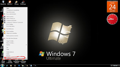 Membuat Program Run As Administrator Windows 7
