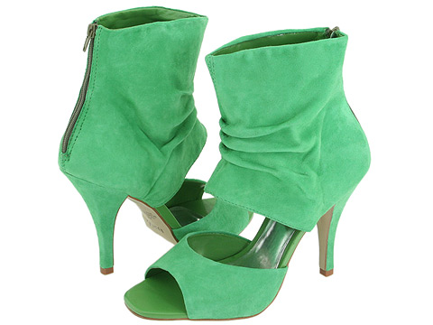 all fashion show trendy green shoes