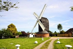 Britain's oldest working windmill goes on the market for £900,000
