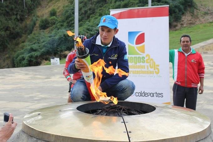 El Fuego Deportivo de los Juegos Nacionales se encenderá en Boyacá