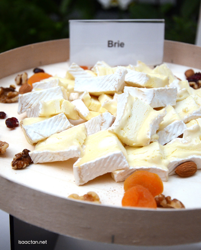 Brie – one of France's most well-known cheese and a popular choice for a cheese platter