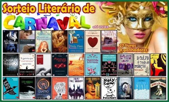 Promoção: Sorteio Literário de Carnaval
