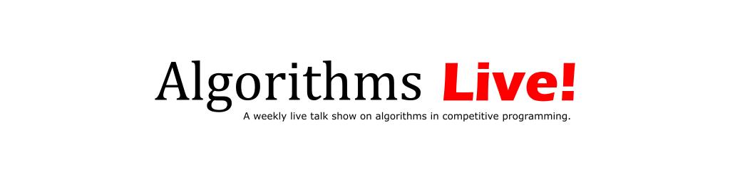 Algorithms Live!