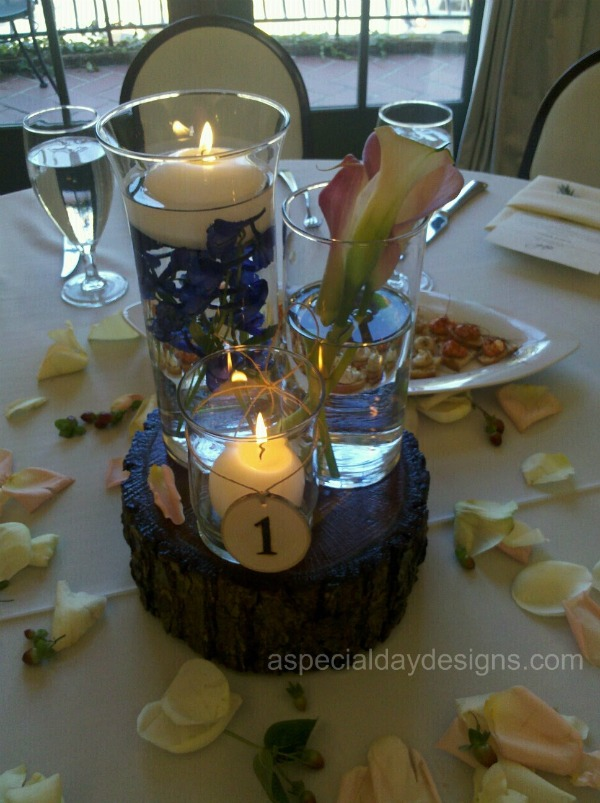 Candle Centerpieces For Weddings