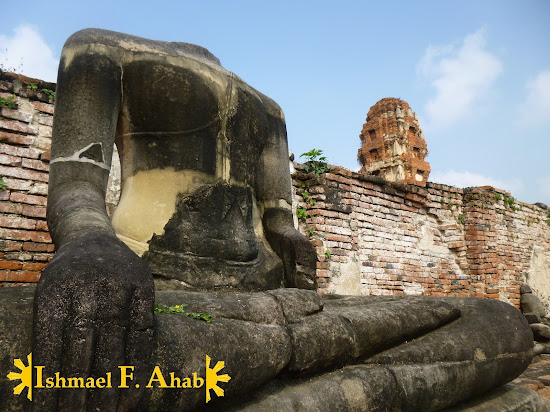 Headless buddha in Wat Mahathat, Ayutthaya Historical Park