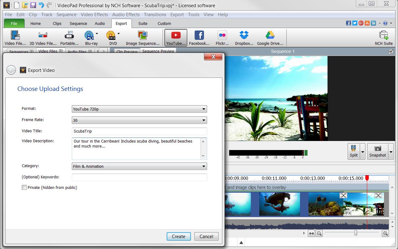 Making movie software