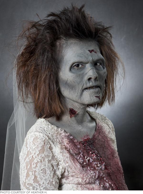 La macedonia de mariola maquillajes de halloween zombies - Como maquillarse de zombie ...