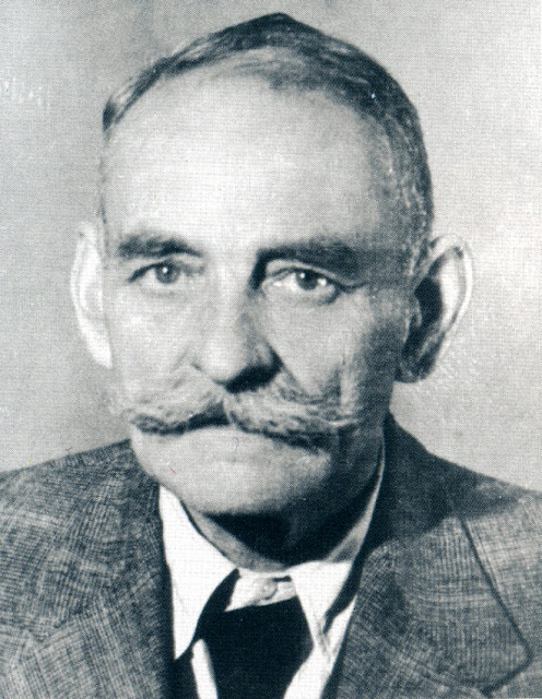 Leopold Jan Kronenberg, ojciec Wojciecha. Fot. z 1950 r.
