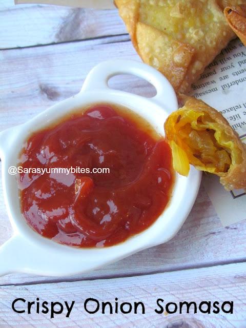 crispy Onion Samosa