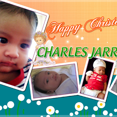 Happy Christening Poster PSD
