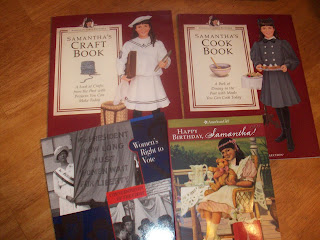 American Girl Samantha and Women's Suffrage Reading