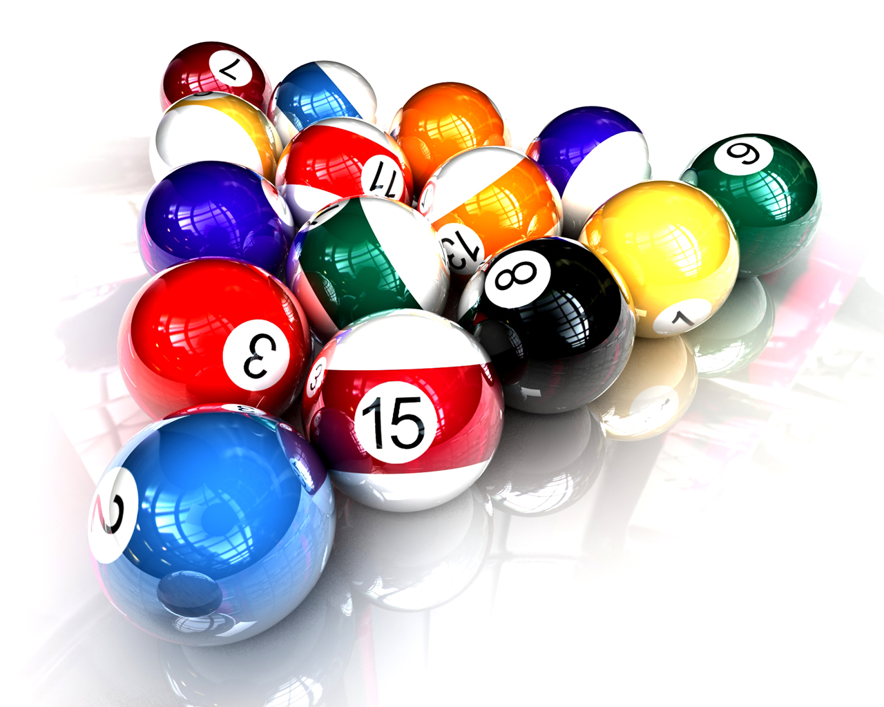 snooker billiards balls |