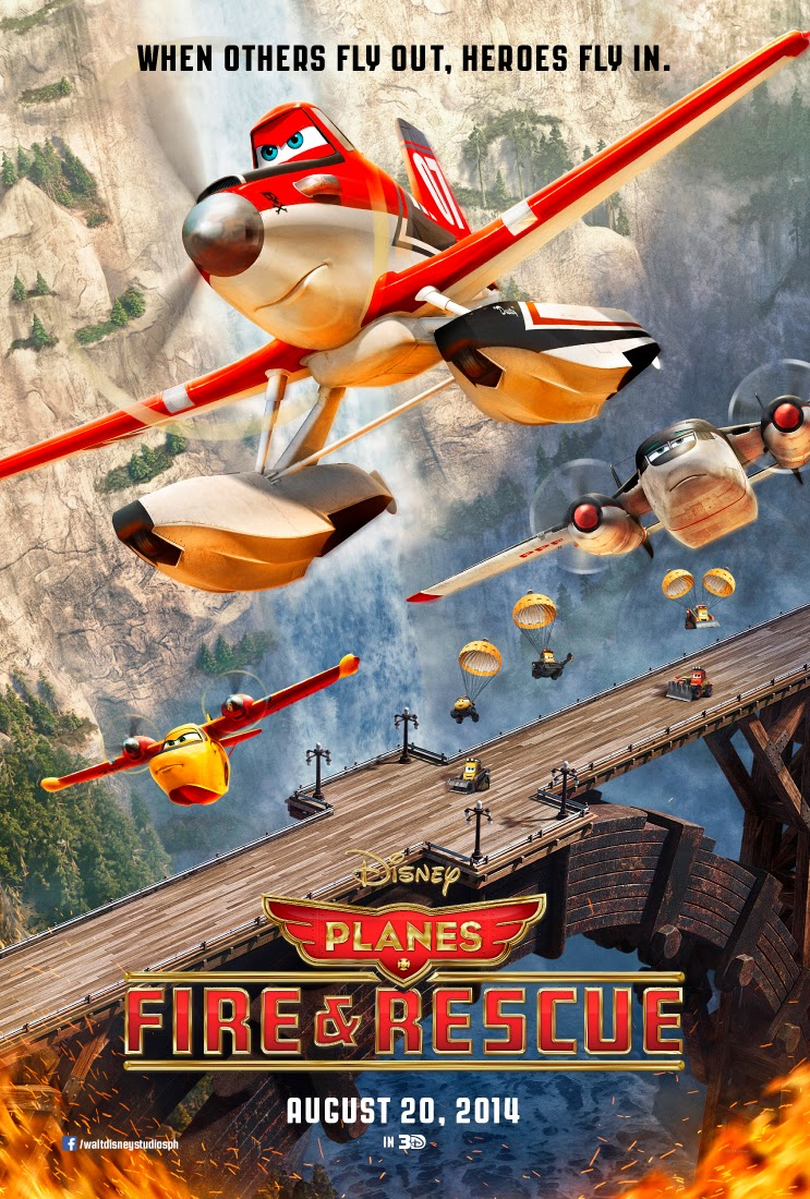 Planes Fire & Rescue (2014) Poster