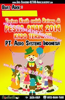 Thank Card Children Party Aero System Indonesia Sample Tema Design Thanks Card (Kartu Ucapan Terima Kasih)