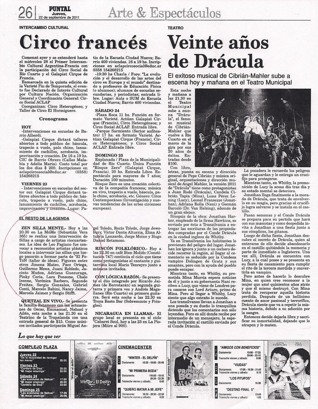 Awesome Diario Puntal Rio Cuarto Gallery - Casas: Ideas & diseños ...