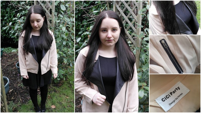 Review: Sammy Dress Color Matching Jacket