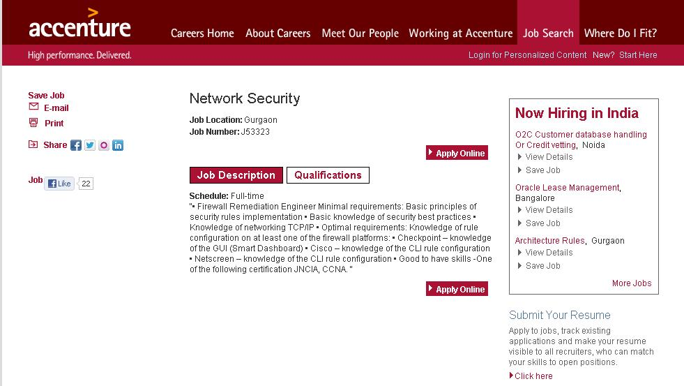 how to get a job in network security