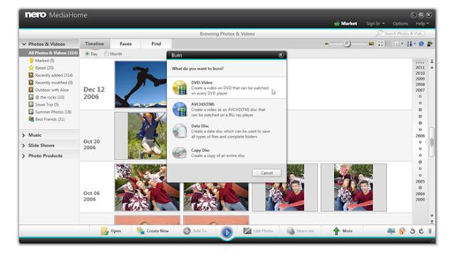 تحميل برنامج Nero MediaHome 2015 مجانا لتشغيل الميديا بلاير