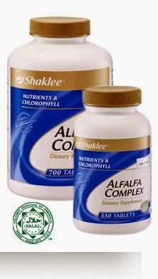 Alfalfa Shaklee merawat keputihan, singkirkan lemak dan kolesterol