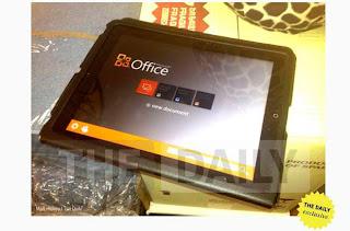 Imagen filtrada de Office para iPad