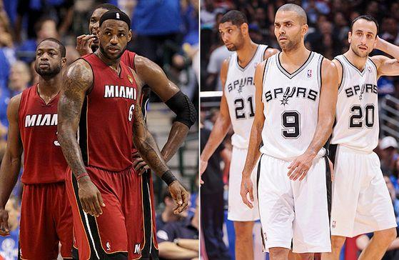 Miami Heat vs. San Antonio Spurs