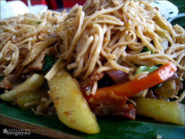 Pancit Habhab or Lucban Filipino Dish