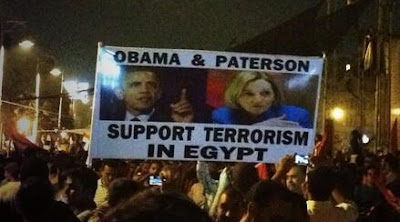Obama & Paterson Support Terrorism in Egypt