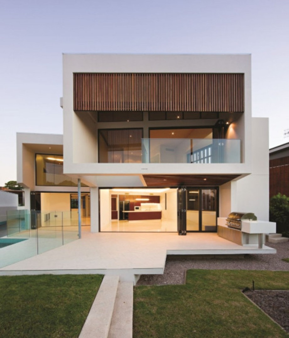 desain rumah idaman minimalis 2 lantai yang sangat modern dan bergaya ...