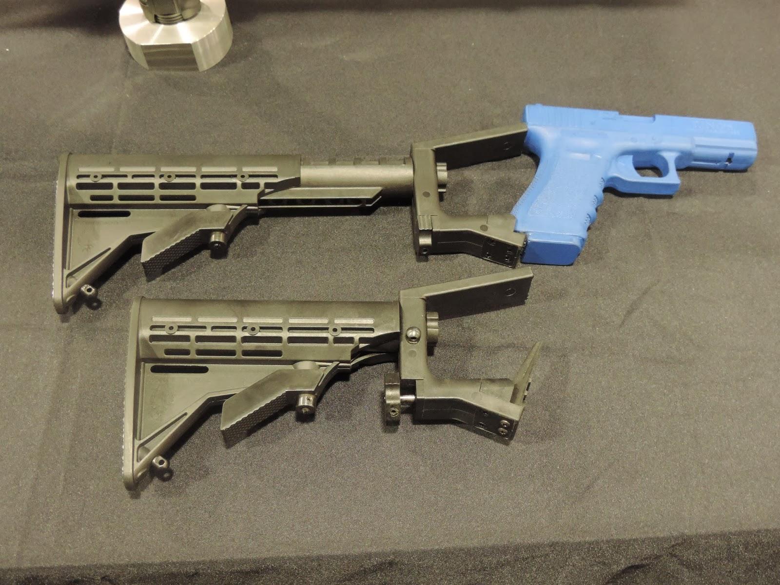 Phoenix Technology Glock M4 Stock Conversion KitNew Military Technology 2014