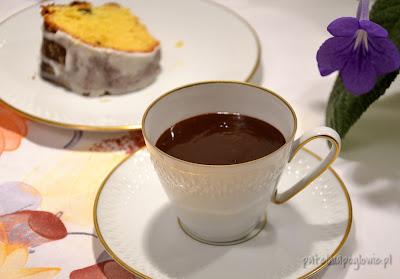 czekolada na gorąco ciasto