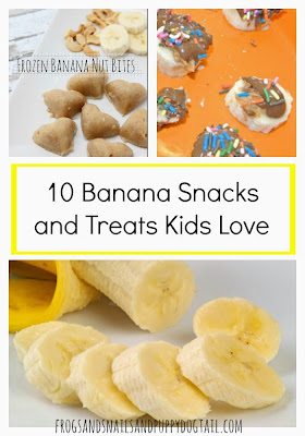 10 Banana Snacks and Treats Kids Love